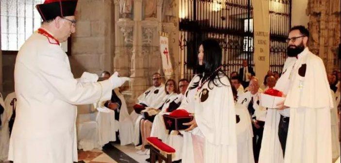 新丝路协会会长向静女士被授予圣地亚哥骑士团骑士勋位